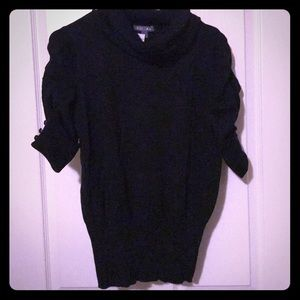 NWT Roz&Ali Black Turtle Neck Sweater